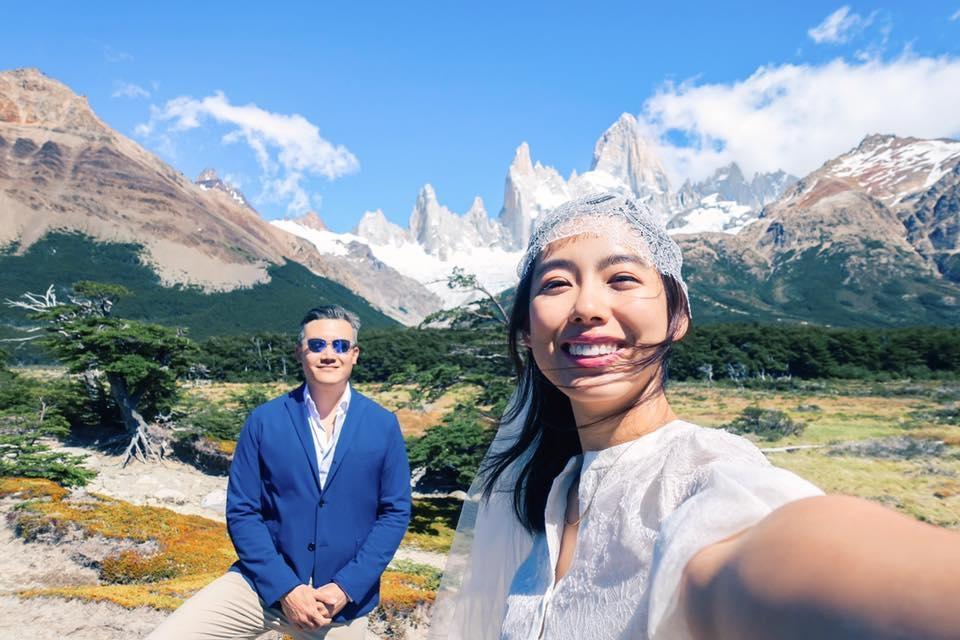 自己的婚紗自己拍!林可彤阿根廷傳奇公路絕美婚紗太強大