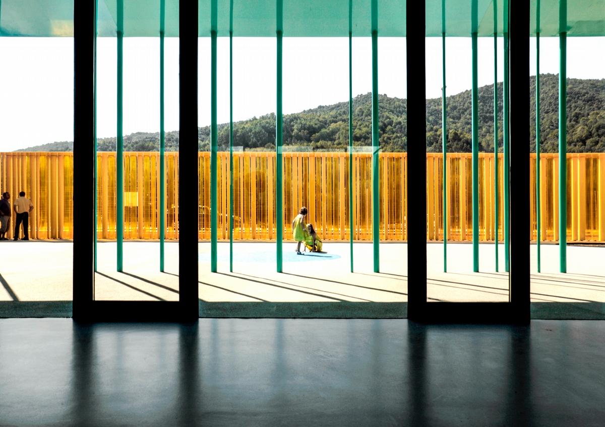 El Petit Comte 幼稚園,西班牙,2010,攝影:Hisao Suzuki