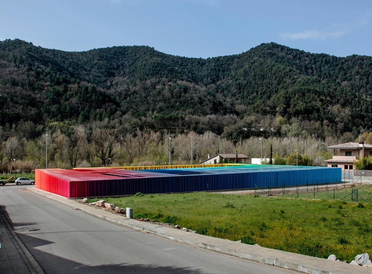 El Petit Comte 幼稚園,西班牙,2010,與J. Puigcorbé 合作 ,攝影:Hisao Suzuki
