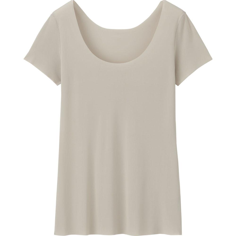 被溫柔擁抱的感覺!到UNIQLO必買的AIRism輕盈涼感衣,單穿內搭都有型