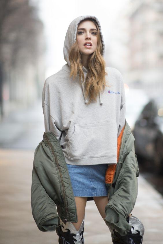 休閒時尚妳跟上了沒?天氣忽冷忽熱,快拿出妳的帽T跟著時尚達人這樣穿