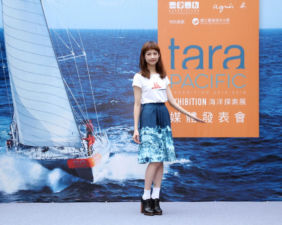 agnès b.啟動海洋環保探索  簡嫚書任「TARA船」台灣大使