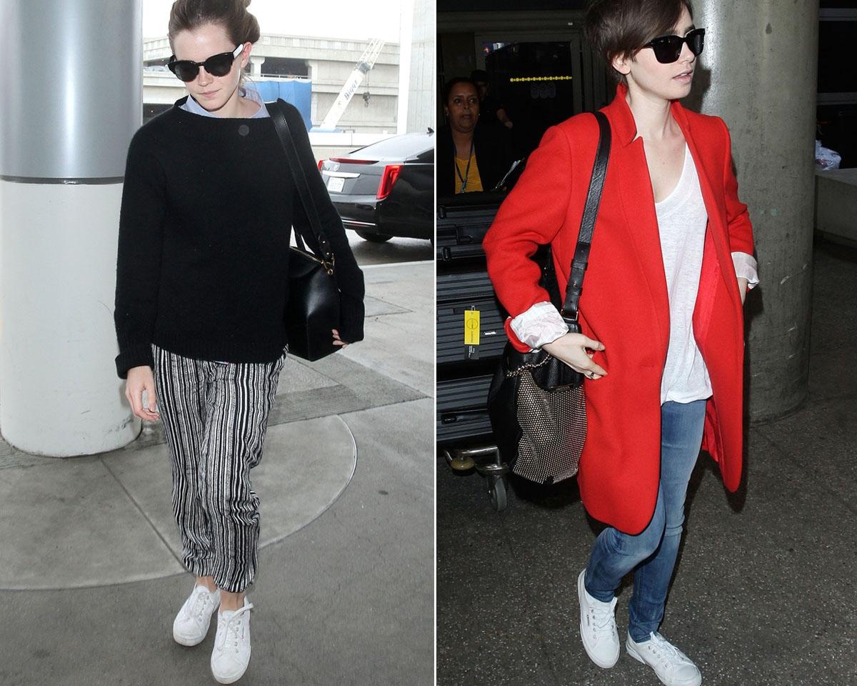 小白鞋太多不知購入哪一雙?看看Emma Watson、凱特王妃、Lily Collins獨鍾哪一款!
