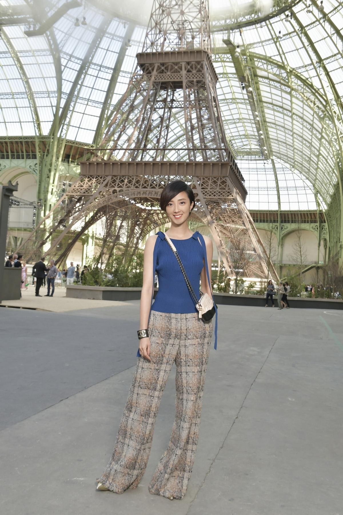 Chanel 2017秋冬高訂大秀巴黎鐵塔下展開!桂綸鎂、Cara、小松菜奈全到場助陣