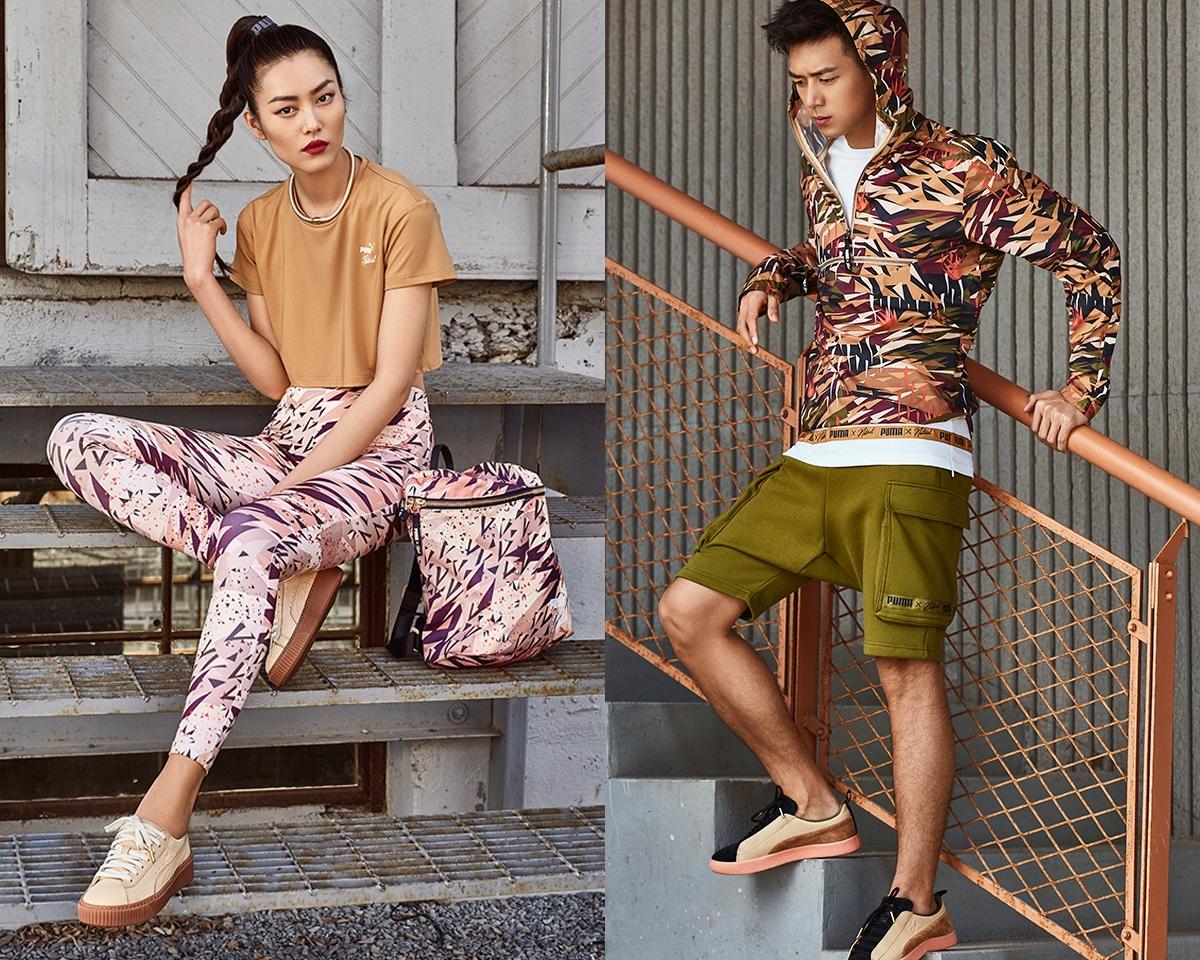 粉紅迷彩席捲秋冬!PUMA超強藝術家聯名系列,包包鞋子T恤全部都想敗
