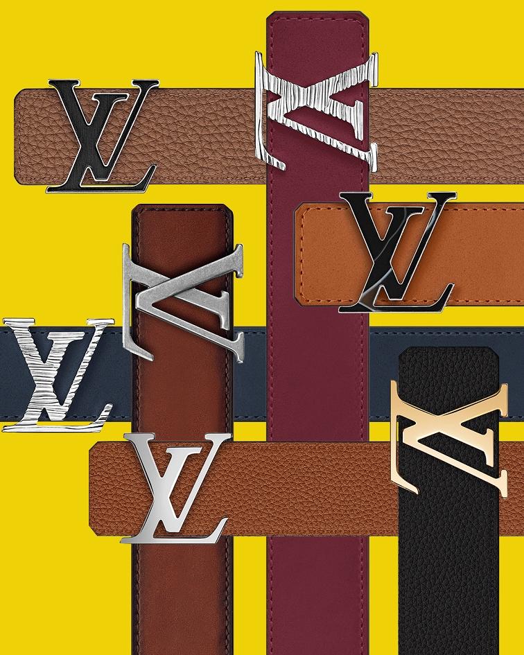 就要你選擇困難!LV客製化皮帶,皮革、釦環排列組合後共240種組合
