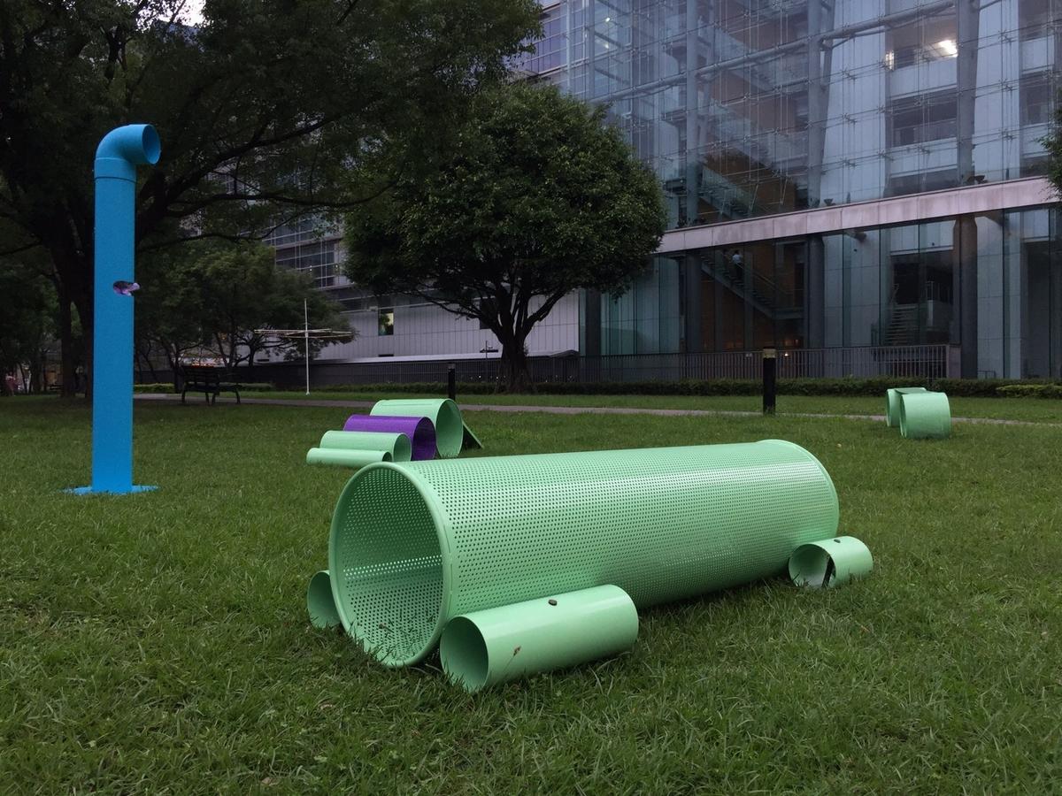 台北市新裝置藝術出動,陪你美美野餐遛狗狗!