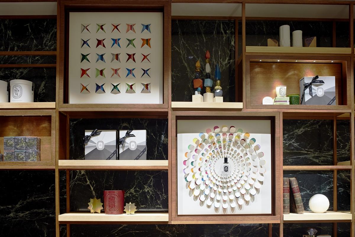 Diptyque旗艦店,每一處都是專屬於Diptyque的香氛藝術