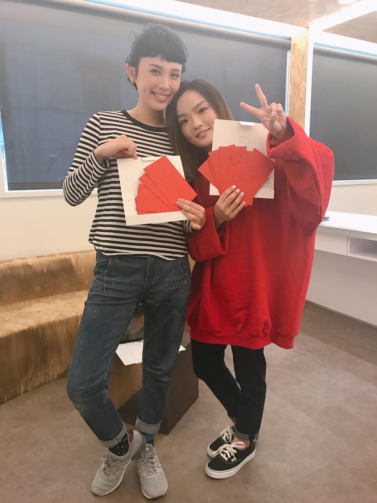 徐佳瑩不怕私處走光 強調衣服還是要穿著