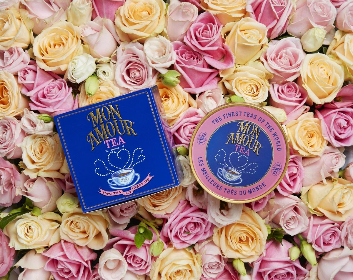 用玫瑰茶香包圍你的愛戀!TWG Tea推情人節限定「吾愛之茶」、玫瑰馬卡龍