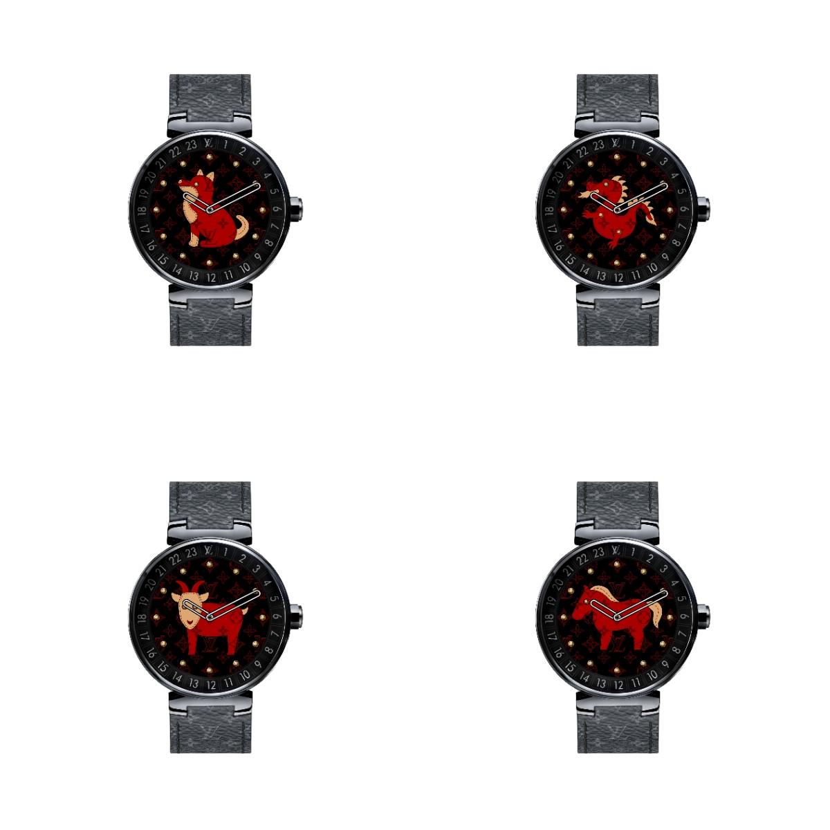 新春佳節 腕錶換紅妝