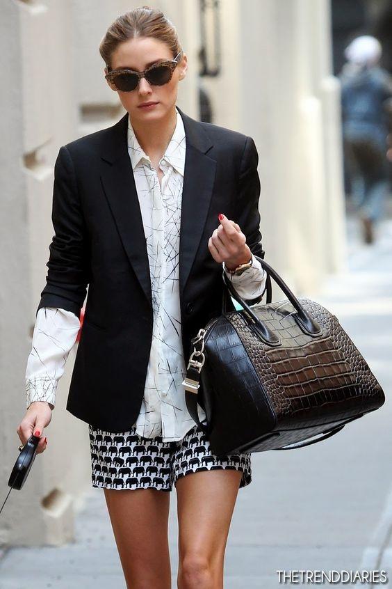 人人都有的黑色單品!跟著紐約名媛Olivia Palermo搭出時髦氣場