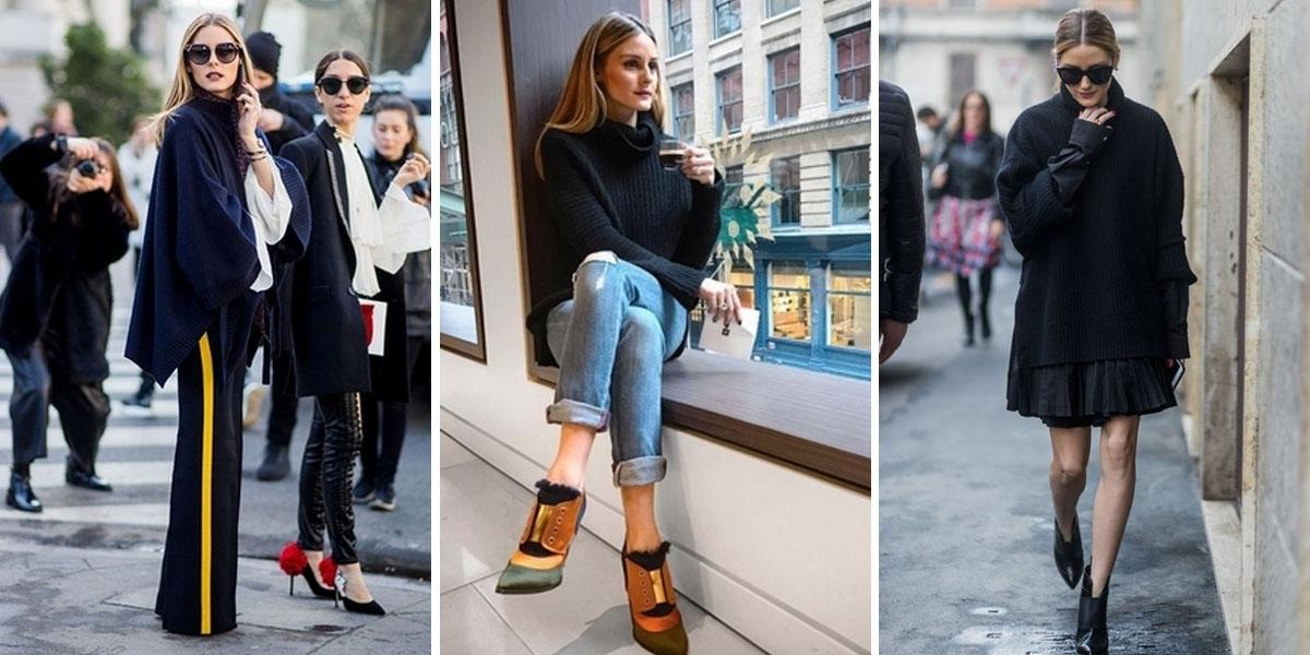 永不退流行的黑色!跟著紐約名媛Olivia Palermo用家中就有的黑色單品搭出時髦氣場