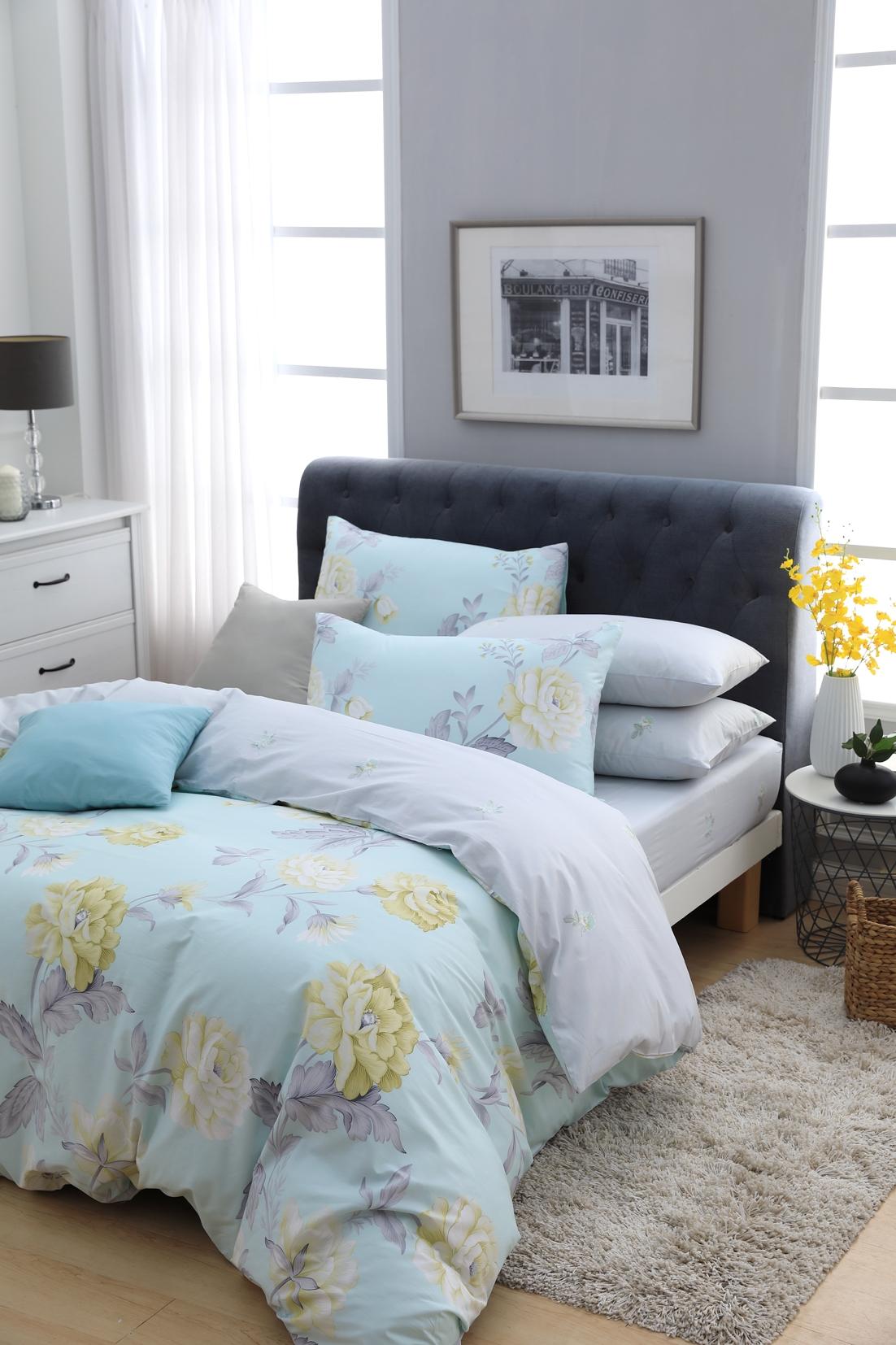 賞櫻季來了!床單也該跟著Montagut換上春天的顏色