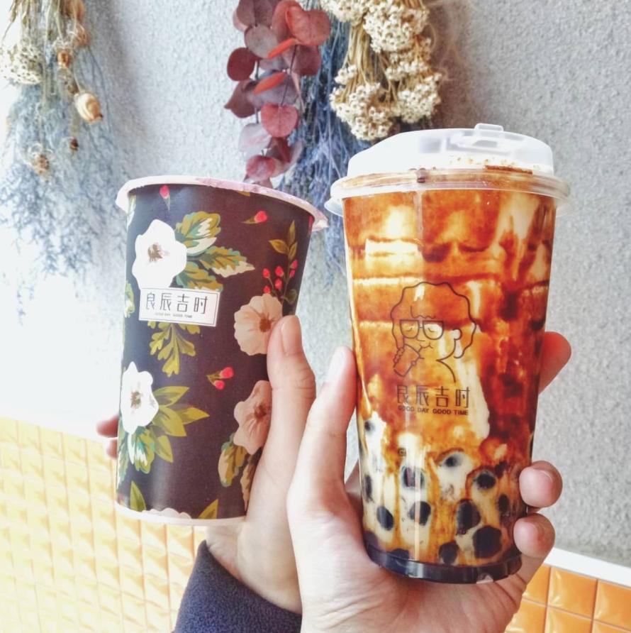 文青必喝!藝人納豆開的「良辰吉時」茶飲,火龍果珍珠鮮奶、黑糖爆漿珍珠夏天必喝