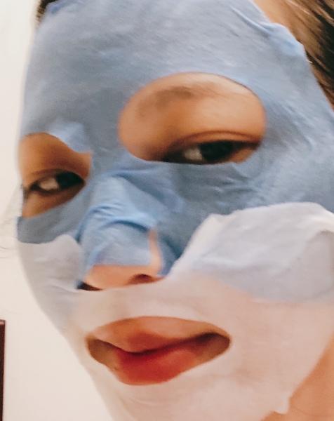 絕對適合家人和好友一起敷的面膜 蘭芝 雙色修護面膜 台灣也有了