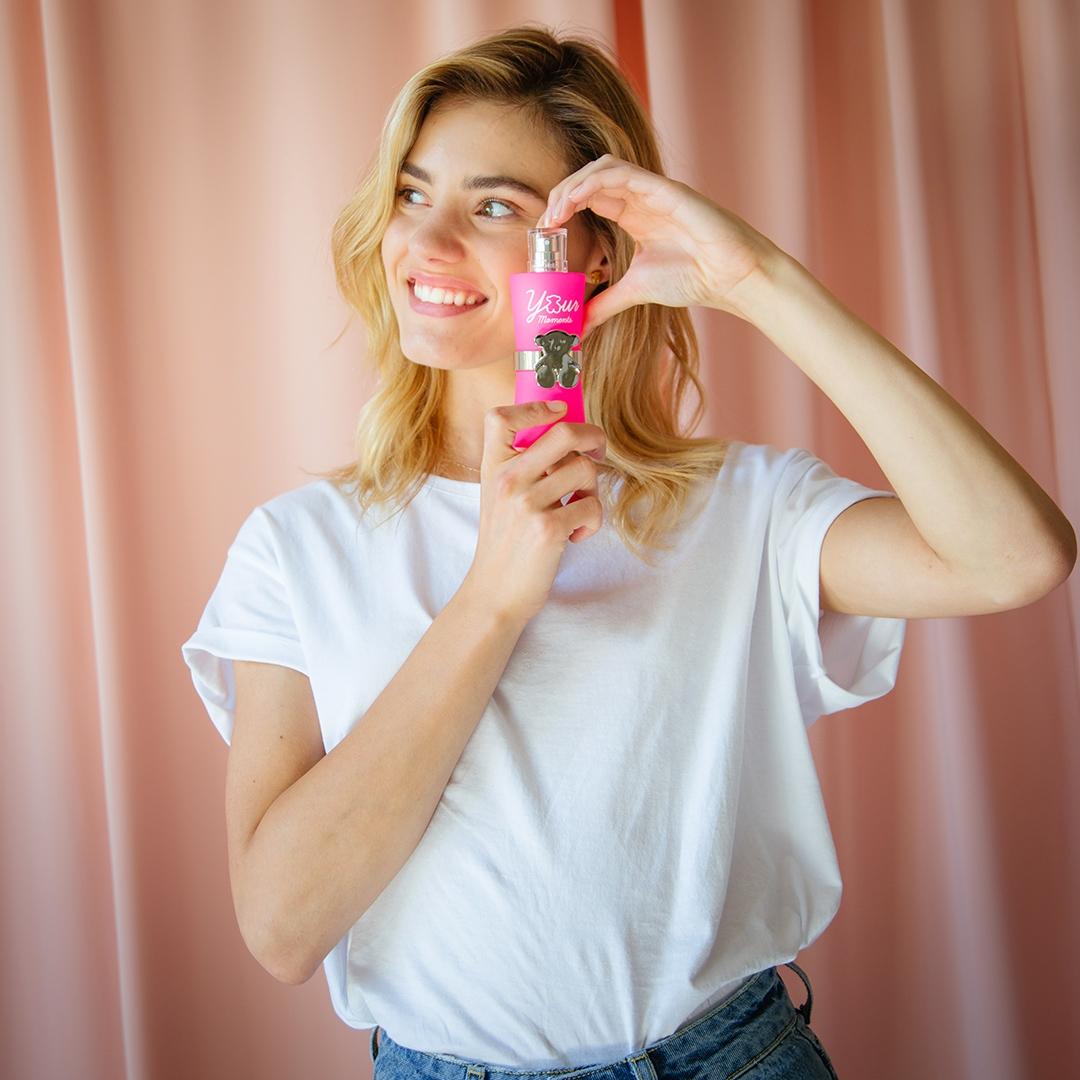 香水衣櫥加一件霓虹粉繫上淘氣小熊,TOUS淘醉時氛淡香水要妳記住率真本質
