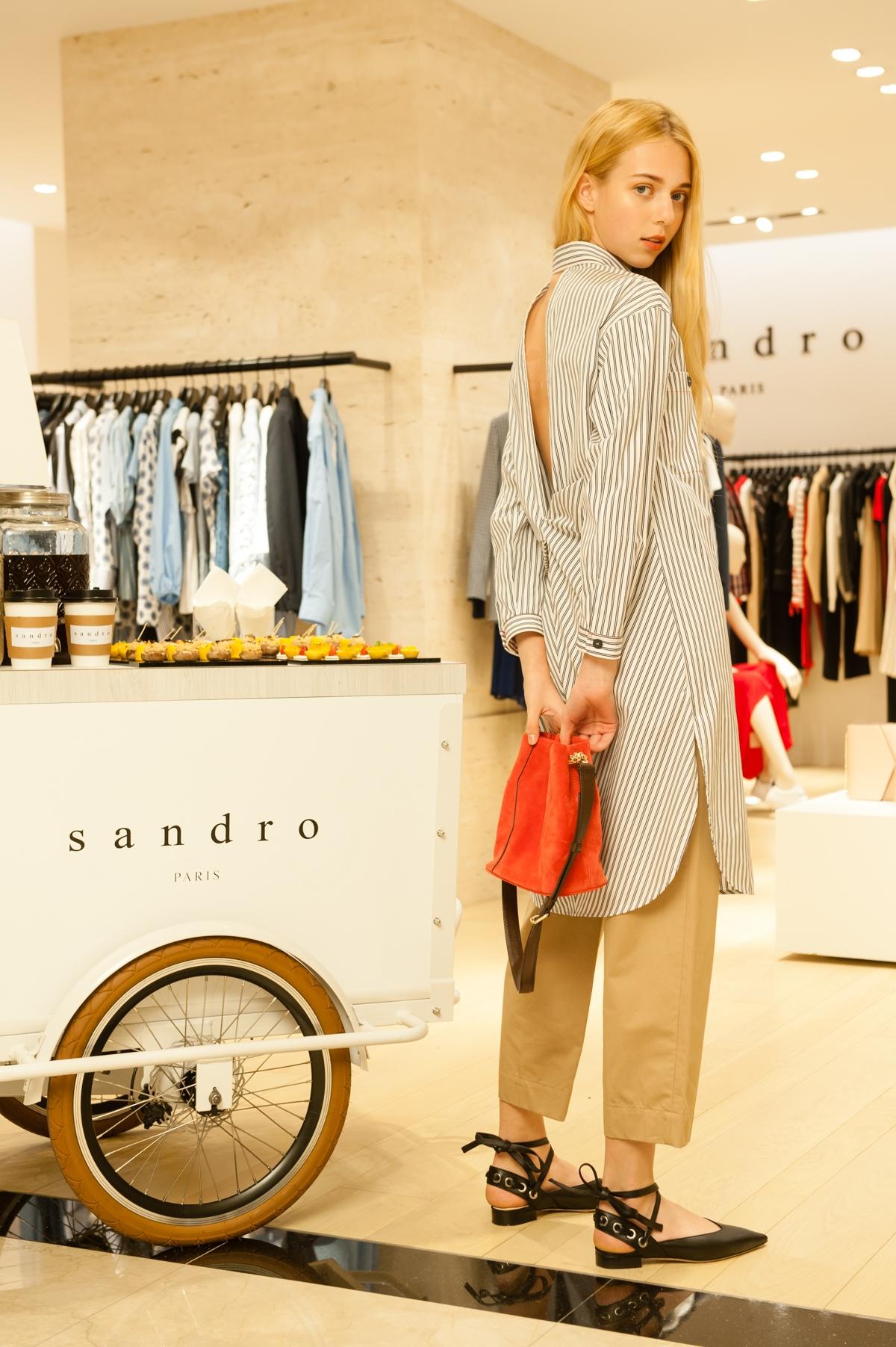 超低調卻超有型的Sandro  為何朴信惠、林依晨、劉詩詩等氣質女星都愛它?