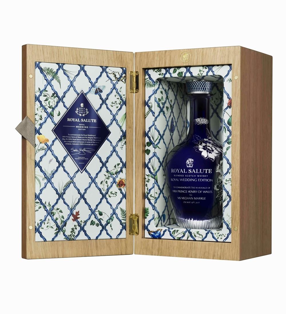 歡慶哈利王子與梅根大婚!皇家禮炮「Royal Wedding」獨家紀念版全台限量2瓶