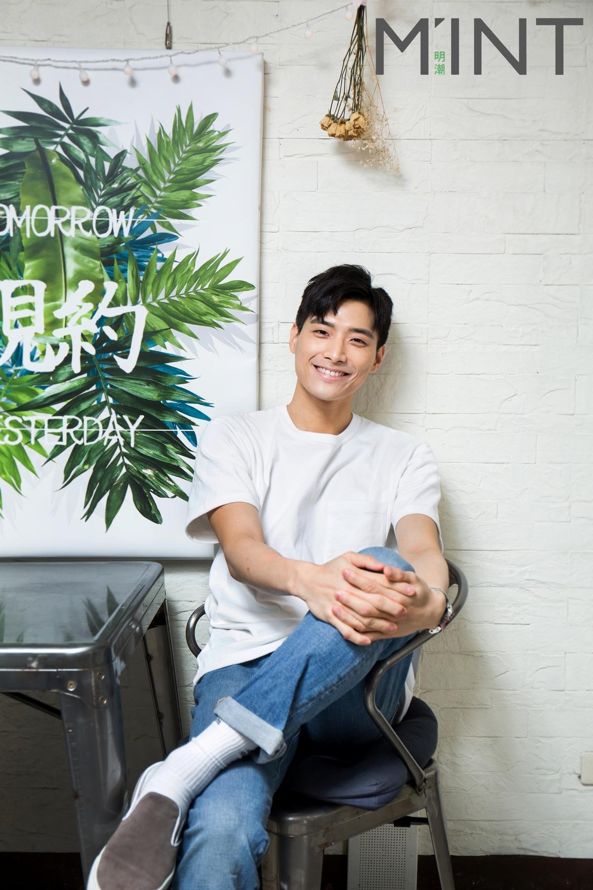 專訪/全民男友猛健身 陳彥名為愛早起磨豆漿