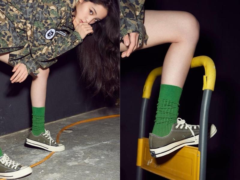 夏天就要一雙百搭Converse,仙氣女孩歐陽娜娜的私服愛鞋就是它!