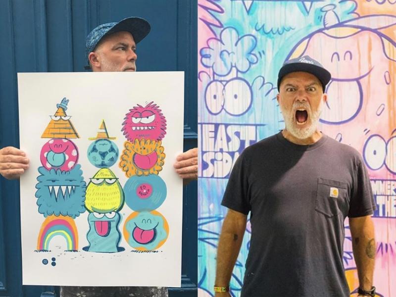 史上最有誠意的聯名!UNIQLO攜手六位跨界藝術家打造Mickey Art系列UT,米奇的眼睛變得好厭世~