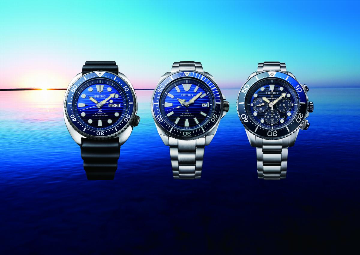 新錶報到—鍾瑤化身美人魚 與Seiko一起愛海洋