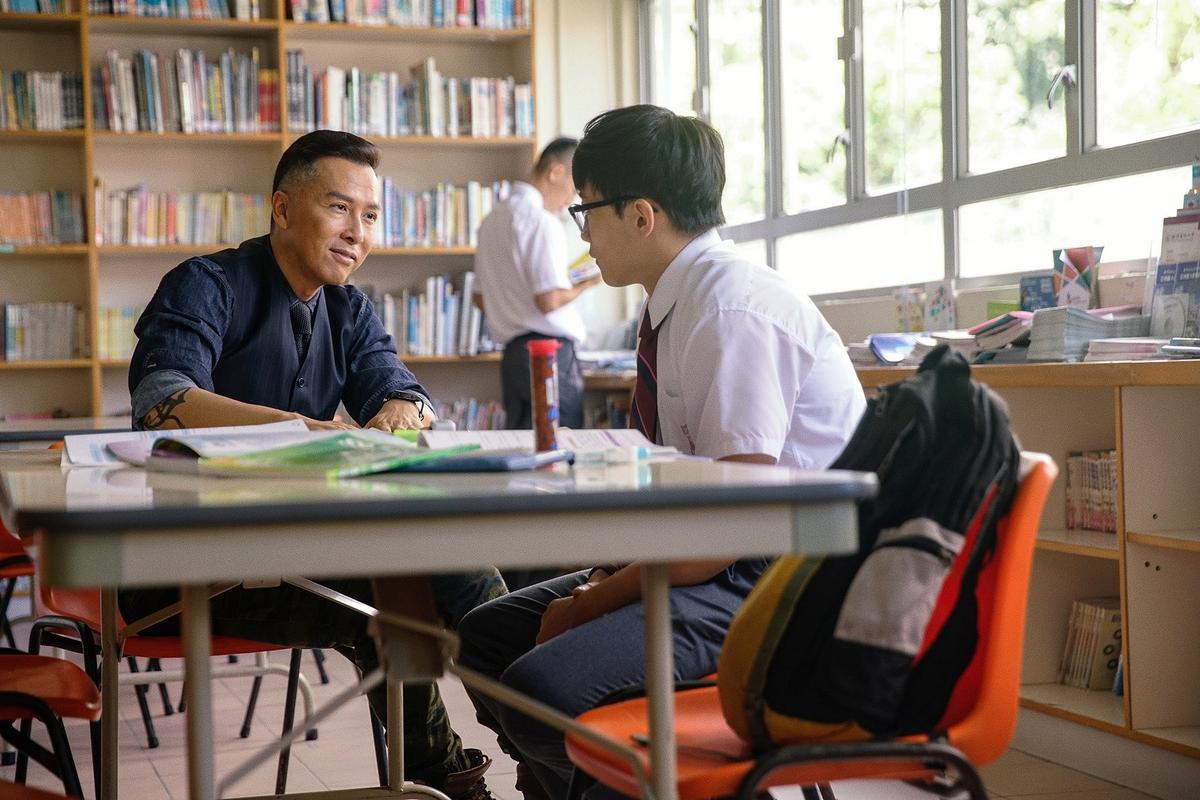 甄子丹自曝曾是問題學生 8月12日來台宣傳《大師兄》