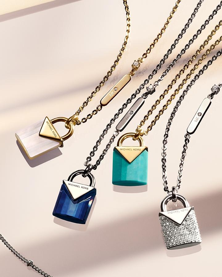 MICHAEL KORS鎖住你們的愛情!3款「高貴不貴」輕奢珠寶為情人節送禮首選!