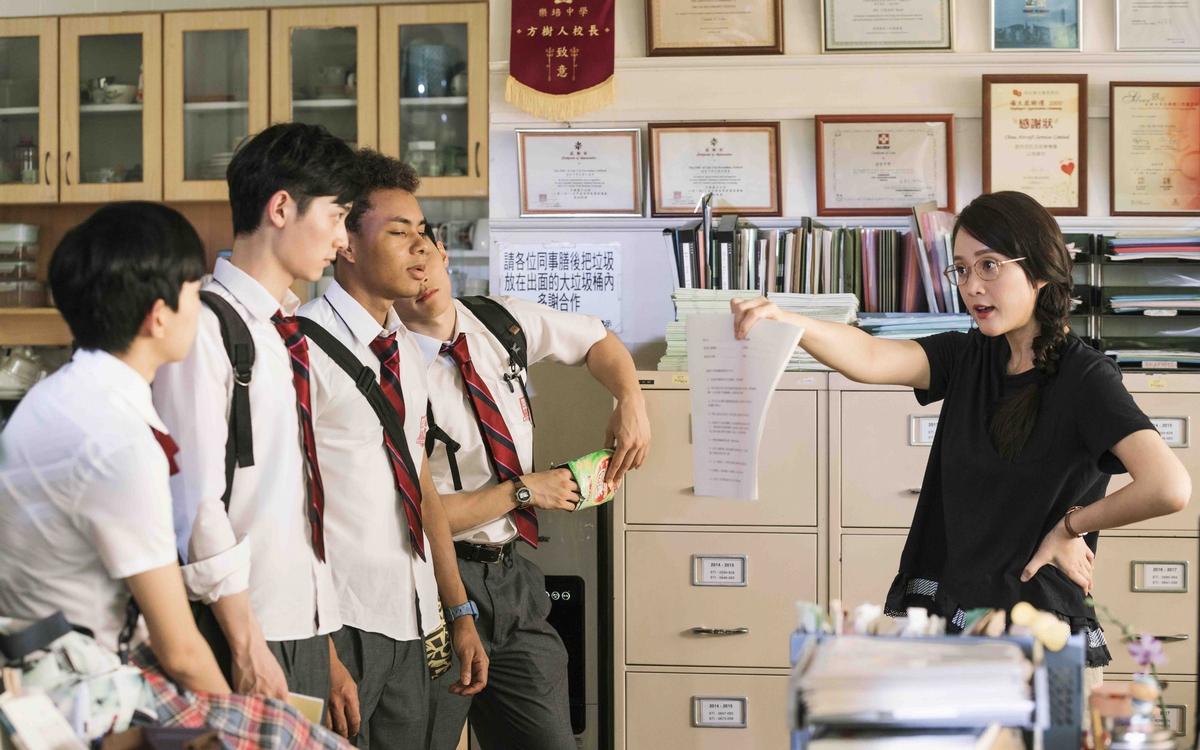陳喬恩扮熱血教師 向甄子丹討教維持身材妙招