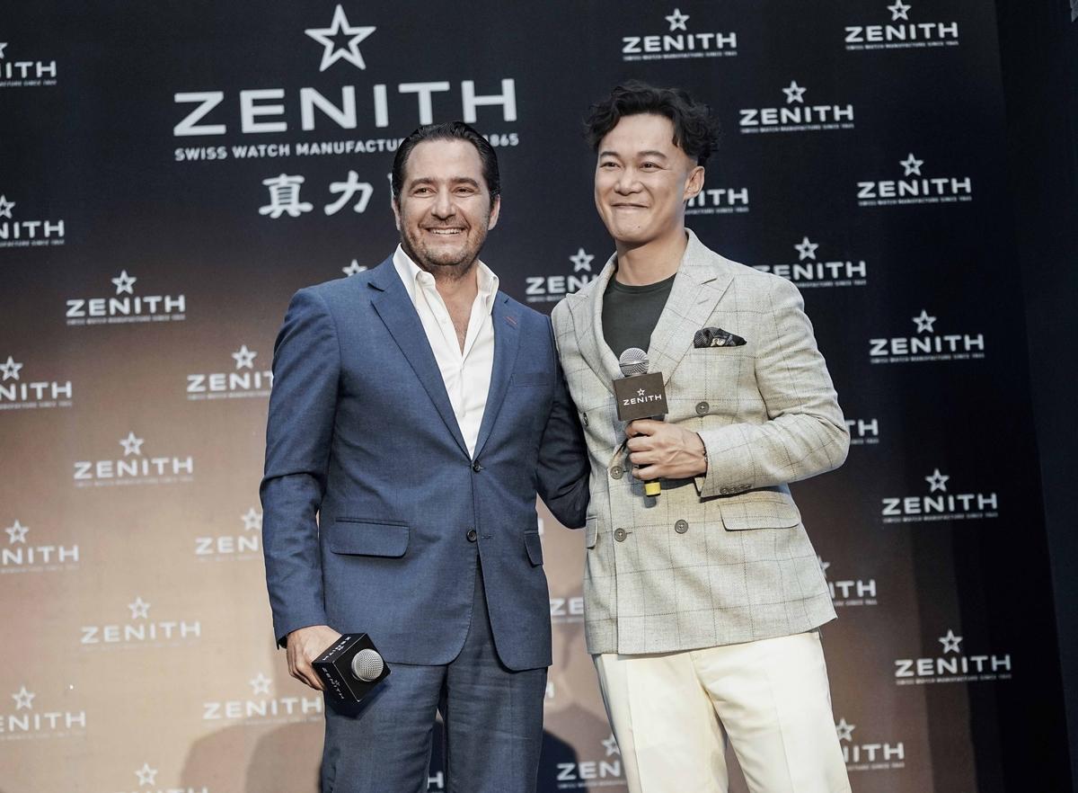 現場直擊—E神陳奕迅現身天津 Zenith首位代言人為「時間進化論」開展