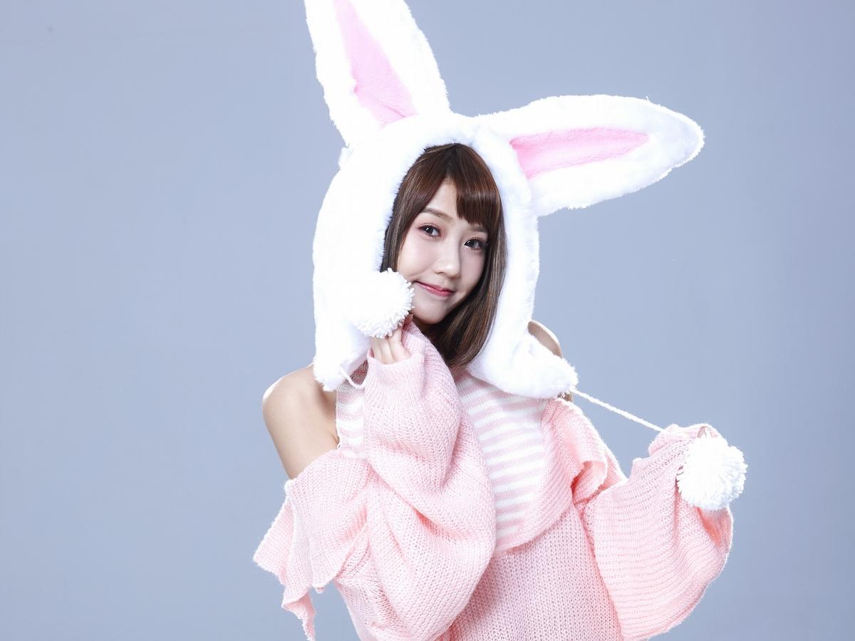 四葉草化身性感小兔兔 白皙美腿誘惑萬名網友