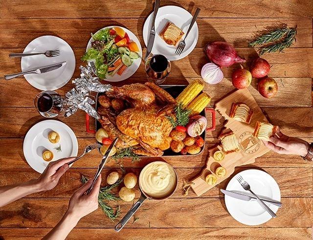 台北美福彩匯自助餐推正宗感恩節美式料理,全新菜色同步登場