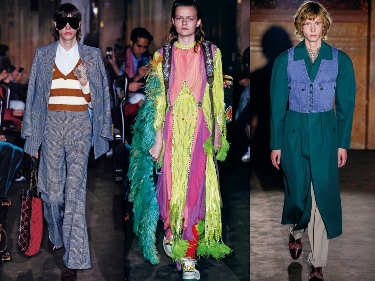 〈2019春夏巴黎女裝周〉Gucci  迷人的自由與放蕩