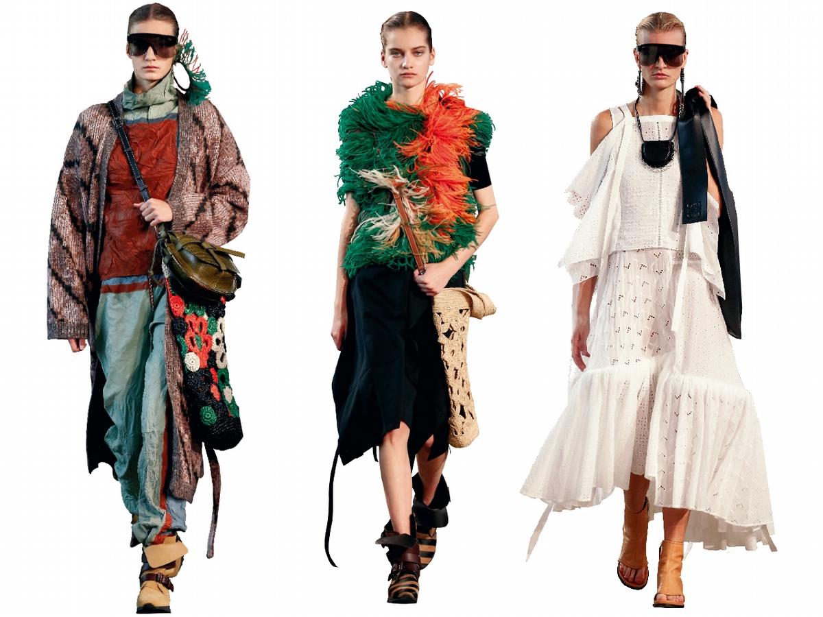 〈2019春夏巴黎女裝周〉Loewe    時髦文青在此
