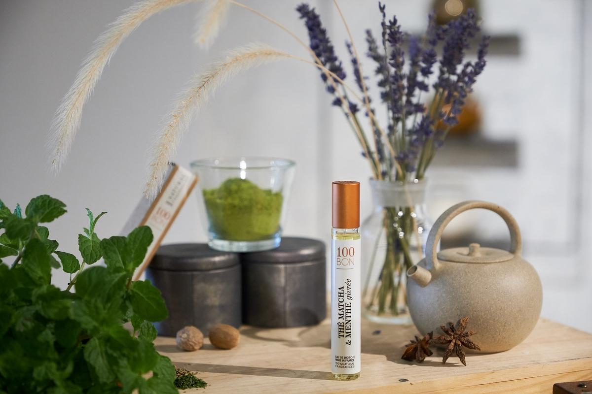 純天然香水100BON,以茶疊香,竟然調和出小編聞過最好聞的美食木質香~
