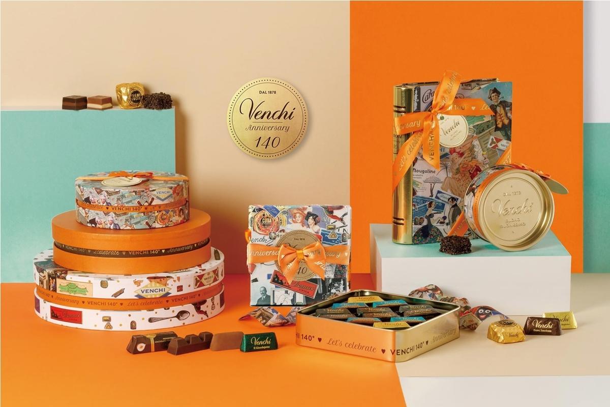 義大利百年精品巧克力Venchi首次來台快閃,獨家140週年禮盒和耶誕倒數月曆必買