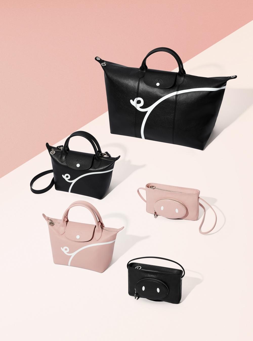 范丞丞、唐嫣、娜娜們最新寵包!Longchamp豬仔限定包實在萌,誰也無法抗拒!