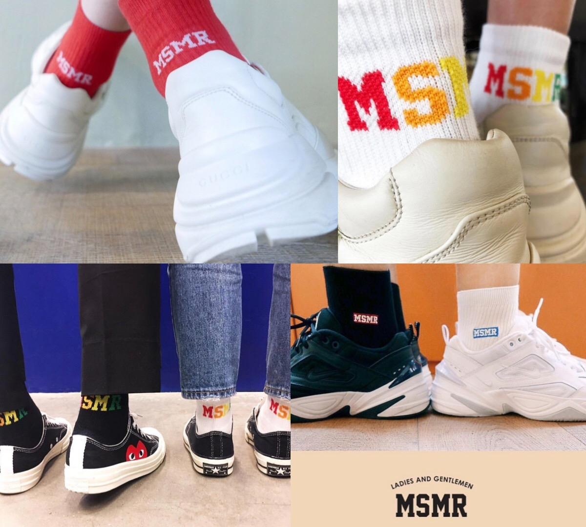 買襪子就送貼紙禮盒包裝和飲料!韓妞超愛NO.1的文青潮牌襪子店 『MSMR』去首爾必逛!