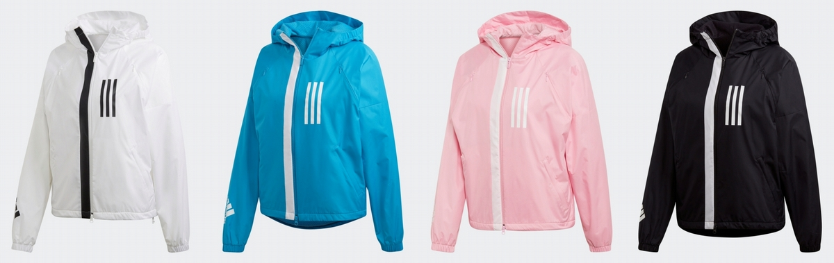 adidas代言人彭于晏、張鈞甯搶先體驗全新W.N.D.風衣夾克