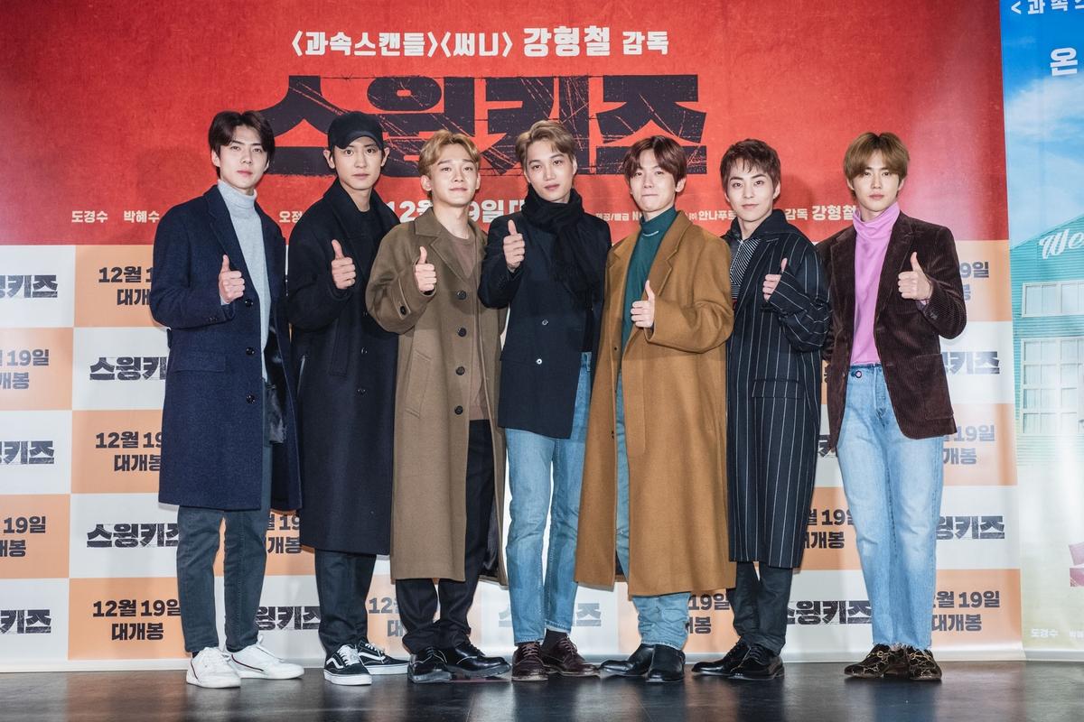 都敬秀苦練踢躂舞竟被嫌吵 EXO成員集體哀號「別穿舞鞋」