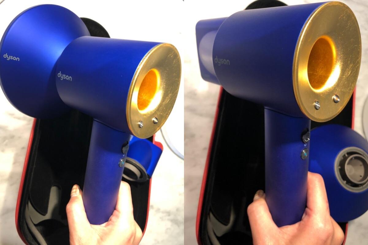 經典藍鑲上金箔,「Dyson 23.75k金特別限定版」全台只有1000支!