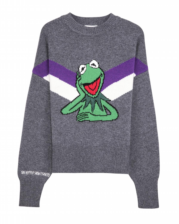Sandro這隻蛙實在太潮! 張鈞甯、賈靜雯搶穿一波童趣耍萌