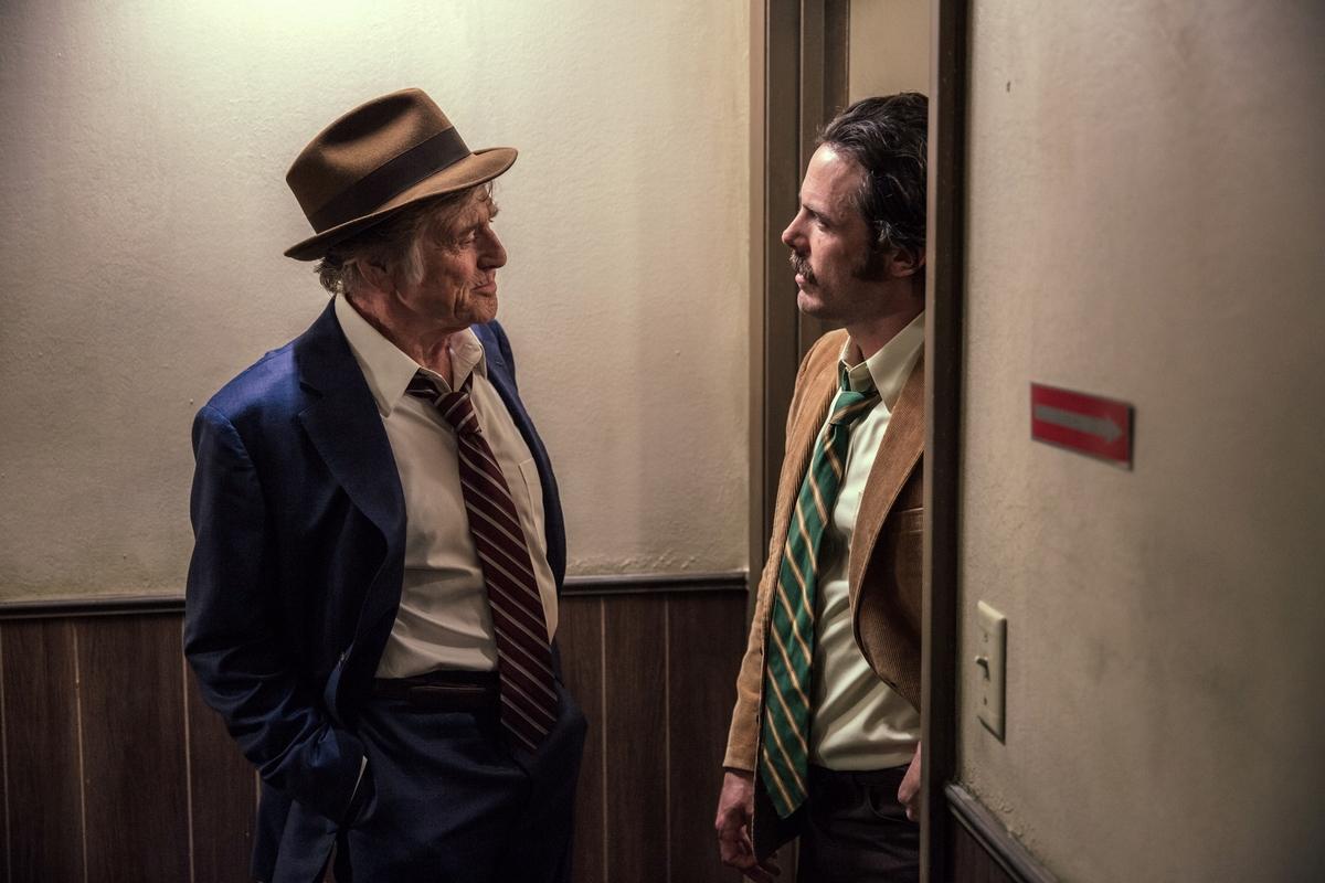 勞勃瑞福息影作《老人與槍》當「獵物」 奧斯卡影帝見他秒變迷弟