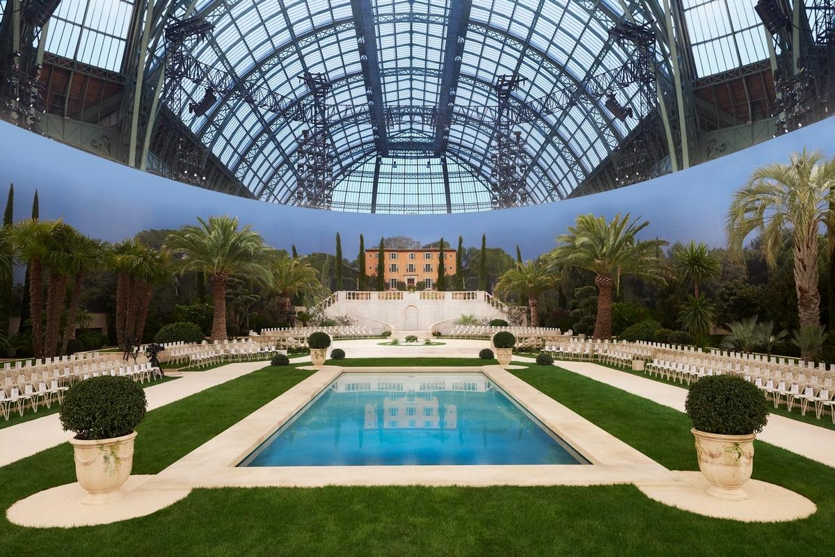 將皇宮化作地中海花園 Chanel2019高訂 壓軸新娘造型美到令人屏息
