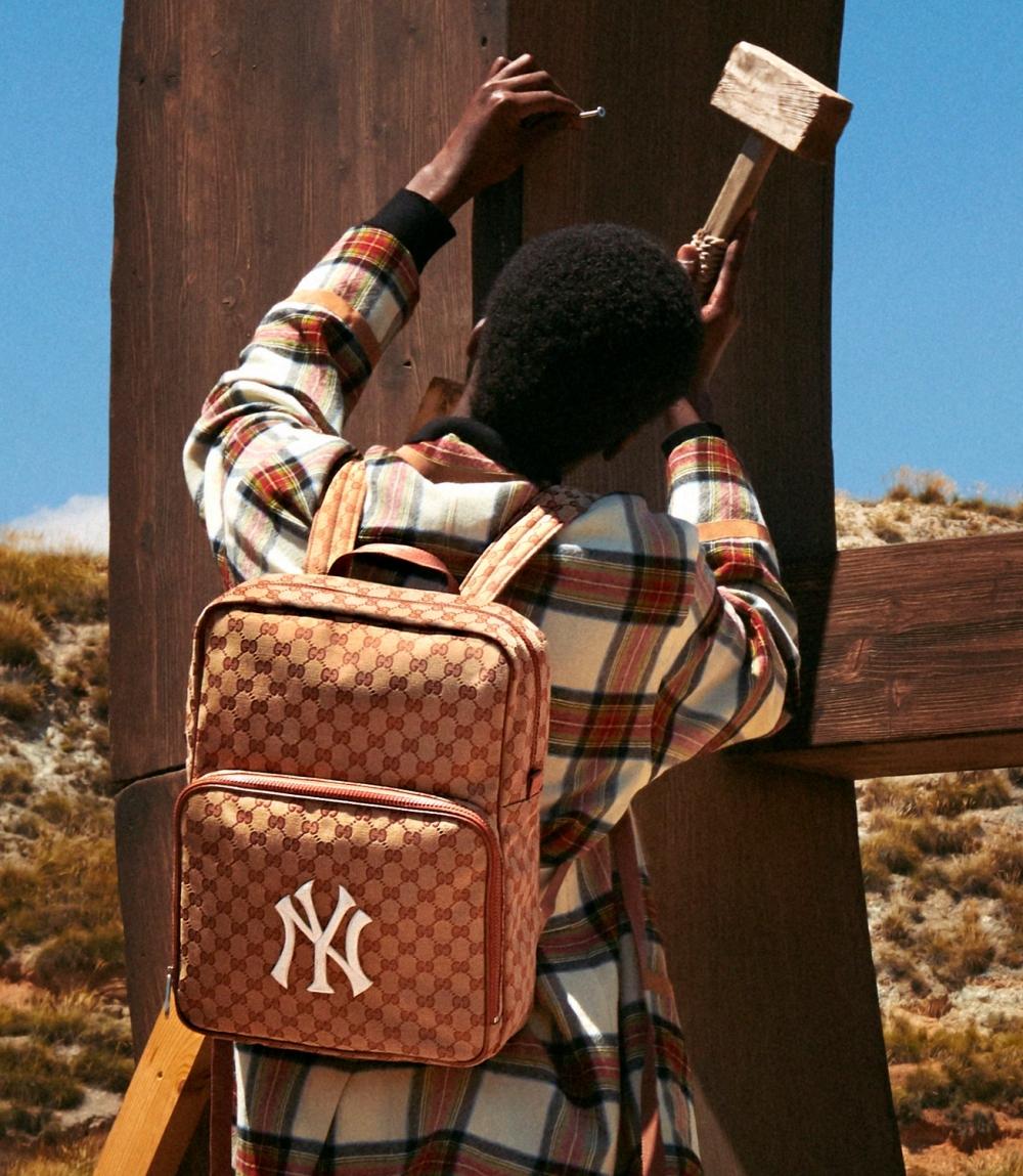 連蔡依林、蕭敬騰都瘋狂!Gucci與美國職棒聯名,從頭到腳都讓你潮一波