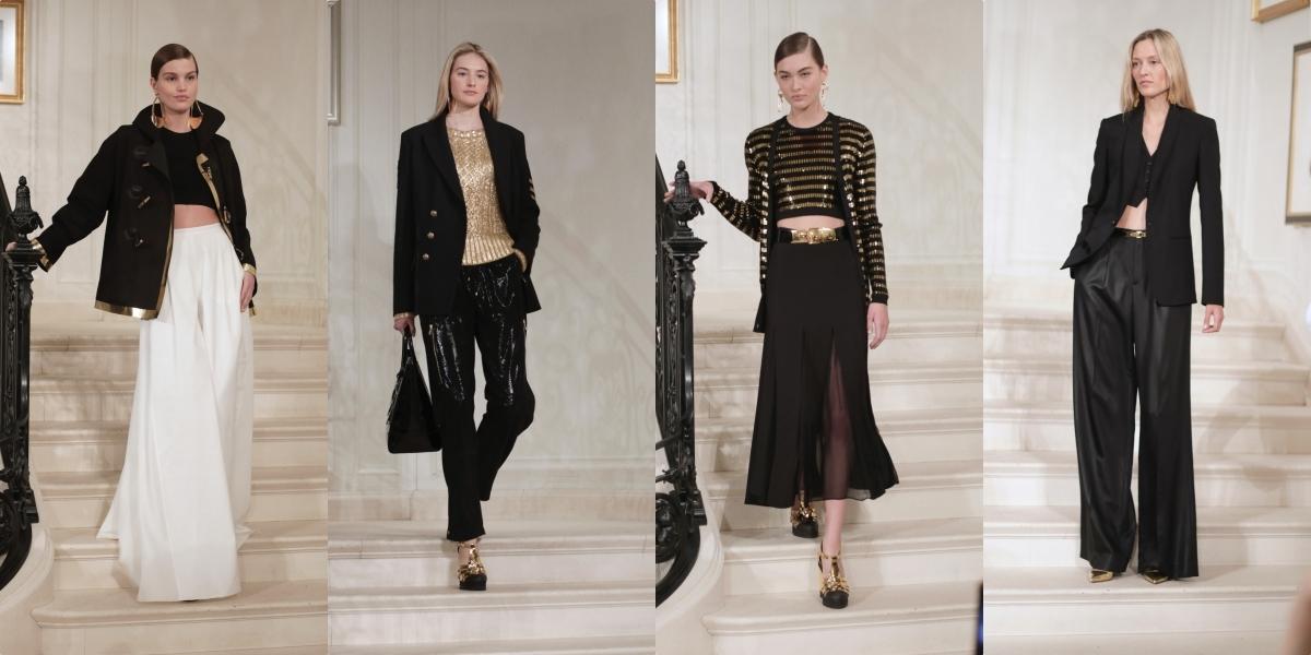 Ralph Lauren 2019春季系列發表 優雅女紳士黑白裝束 帥氣降臨