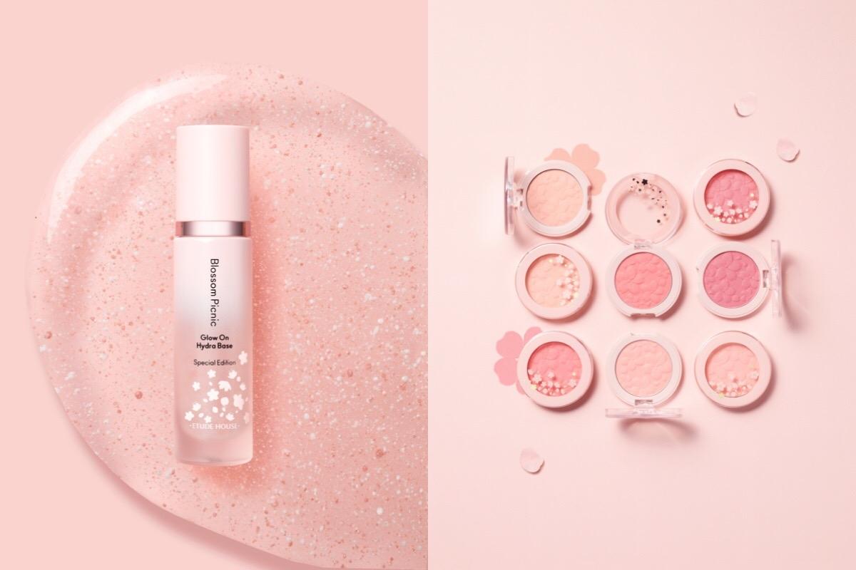 讓妝容比熱門賞櫻景點還要美!ETUDE HOUSE『粉嫩櫻花野餐趣系列』打造無敵粉嫩好氣色!