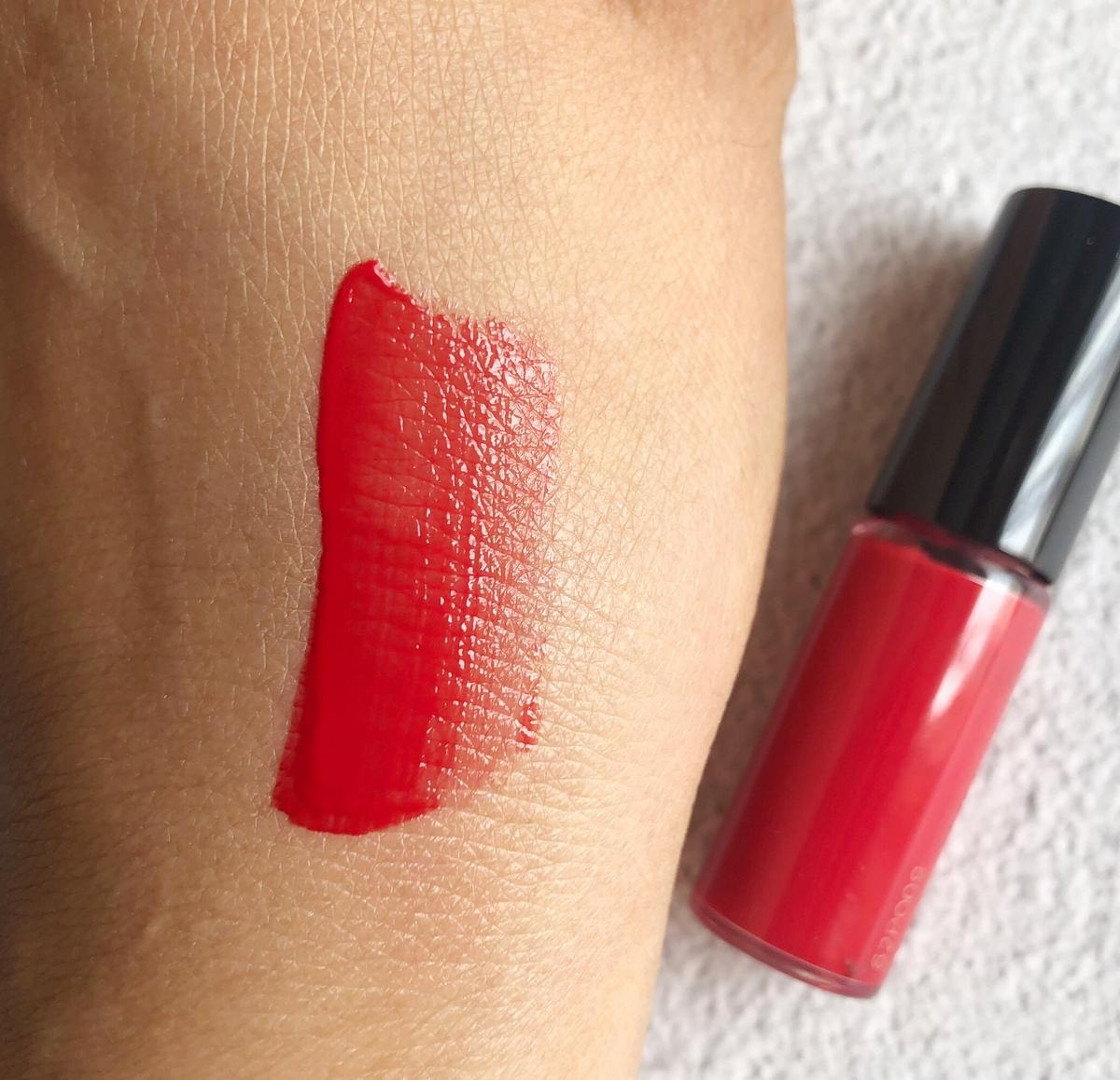 秀智最喜歡的#134絕對完美水唇釉,就裝在「微笑唇彩禮盒」裡,現在就要送給妳