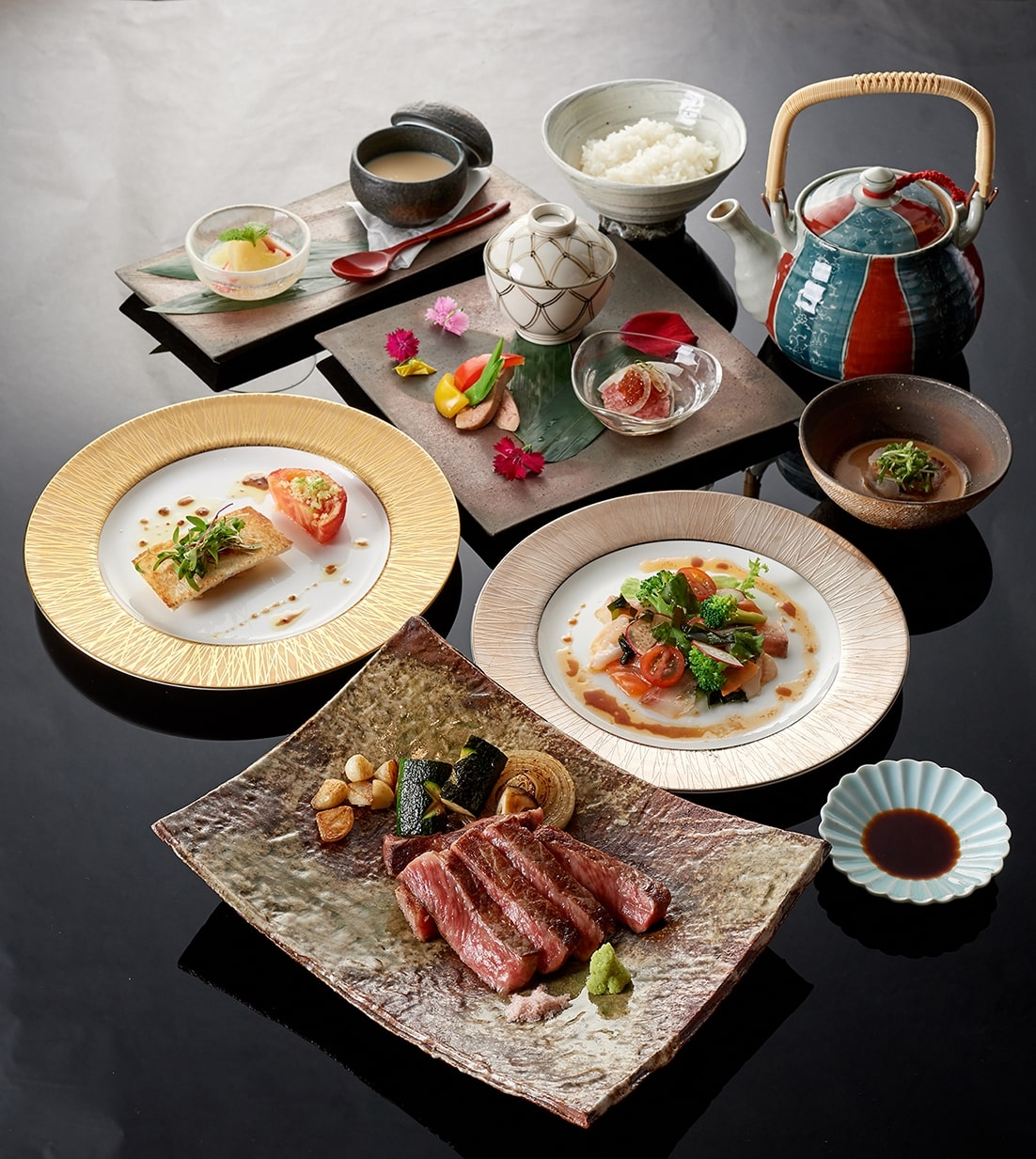 頂級佐賀牛太誘人!美福大飯店x日本米其林「季樂餐廳」推限定套餐,饕客不吃會後悔